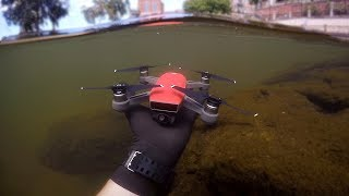Found Drone Underwater in River While Scuba Diving! (w/ Girlfriend)