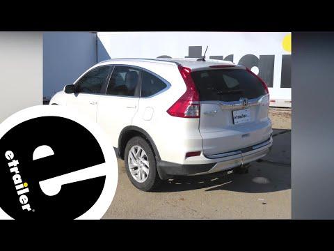 etrailer.com Trailer Hitch Installation - 2015 Honda CR-V - etrailer.com