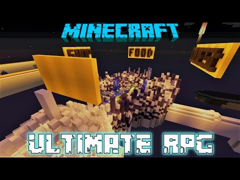 Minecraft: Ultimate RPG Console Map W/Download