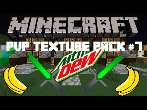 Minecraft PvP Texture Pack 1.7.9 #8 Mountain Dew pack!