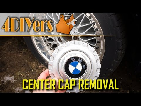 DIY: BMW Style 5 or BBS RC090 Center Cap Removal