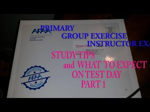 PASS FAST! AFAA GROUP EXERCISE INSTRUCTOR CERTIFICATION