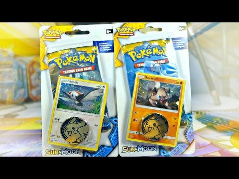 OPENING 3x ROCKRUFF & PIKIPEK CHECKLANE BLISTERS W/ 6 SUN AND MOON BOOSTER PACKS!