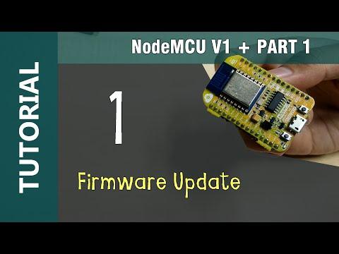 ESP8266 NodeMCU V1 WiFi IOT Module Flashing Firmware Update using NodeMCU Flasher Tutorial 1