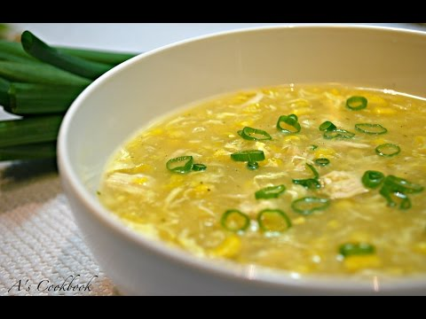 Easy Chicken Corn Soup Recipe (Indo-Chinese)