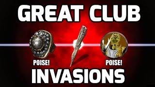 Dark Souls 3 Great Club Invasions - Gankers Can