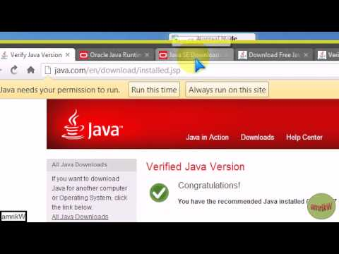 How I installed Java on Windows 7 (32-bit)