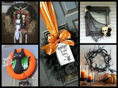DIY Halloween Wreath Ideas - Halloween Decorating Ideas