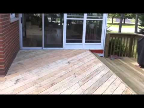 Deck Doctor Refinishing