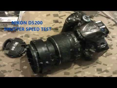 NIKON D5200 SPEED SHUTTER TEST  !!! (BURST MODE) HIGH SPEED...