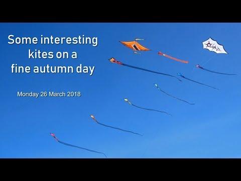 Some interesting kites on a fine autumn day
