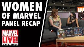 Rainbow Rowell & Women of Marvel Panel Recap on Marvel LIVE! at San Diego Comic-Con 2017