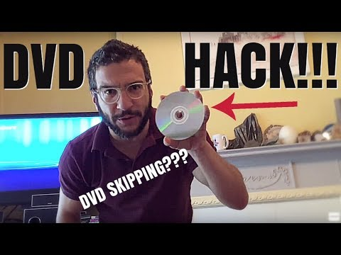 Life Hack: How to fix a dirty and scratched DVD