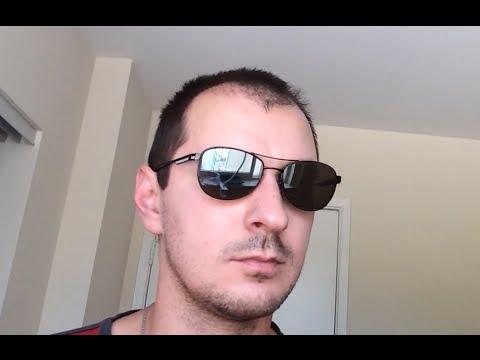 8da2a3be5b Zenni 651321 Silver mirror prescription polarized sunglasses unboxing