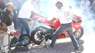 Ducati Desmosedici GP (Loris Capirossi): Engine Start-Up + Desmosedici RR + 900 SuperSport