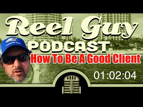 Fishing Podcast How To Be A Good Fishing Client - Triple Live Capt Jeff