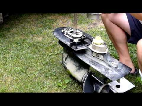 Replace Water Pump on Mercury Outboard