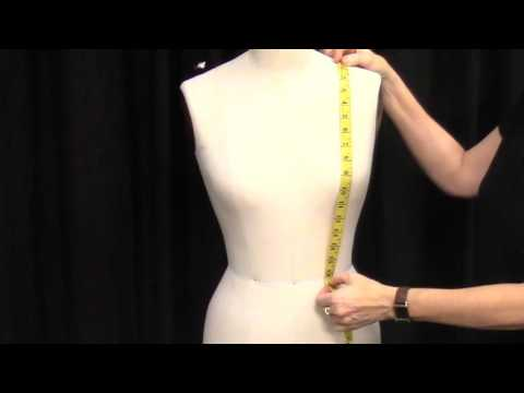 How to Take Measuements to Pattern a Corset