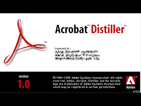 How to Download & Install Acrobat Distiller 5.0