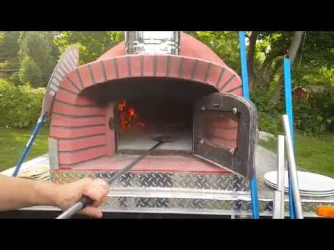 Mobile Woodfired Pizza Trailer