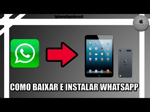 Como INSTALAR o WHATSAPP no Ipad e Ipod Touch