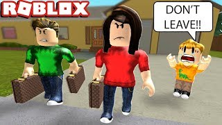 BEING ABANDONED BY MY PARENTS IN ROBLOX