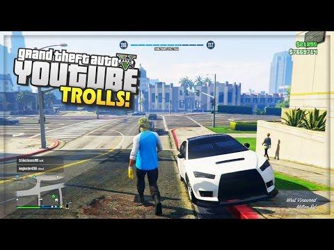GTA 5 Online 'Youtube Trolls' & Free Roam Challenges! (GTA 5 Funny Moments)