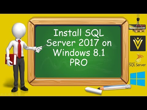 How to Install SQL Server 2017 in Windows 8 Pro