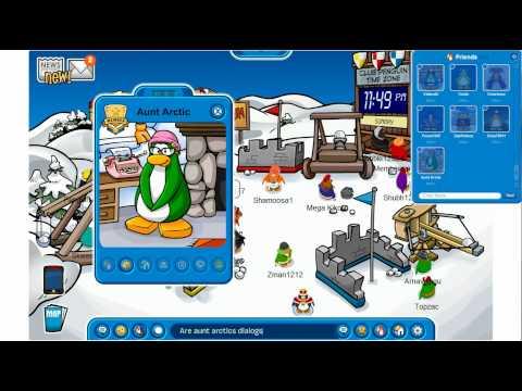 Aunt Arctic - New Background? - Club Penguin