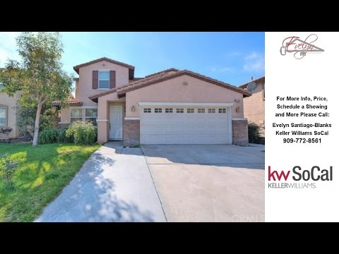 15159 Blackthorne Drive, Fontana, CA Presented by Evelyn Santiago-Blanks.