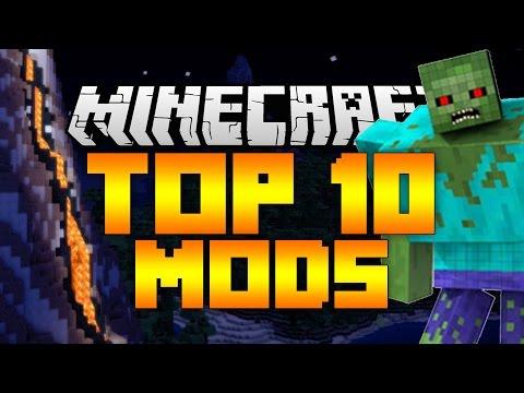 Top 10 Minecraft Mods (Minecraft 1.12/1.11.2) - 2017 [HD]