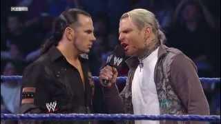 Jeff Hardy attack Matt Hardy 2009.03.13
