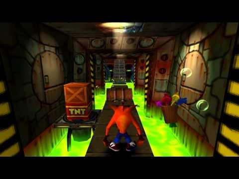 Crash Bandicoot 100% Walkthrough HD - Part 16: Toxic Waste