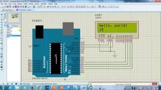 Arduino Wireless module (rf module) simulation in proteus