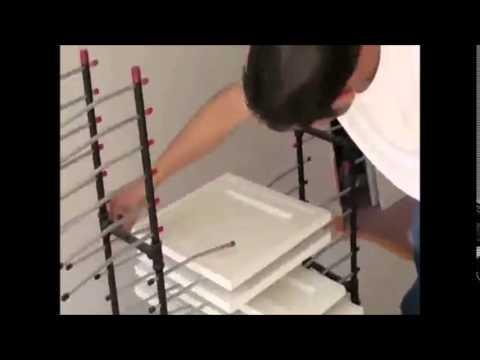 Cabinet Door Painting Video