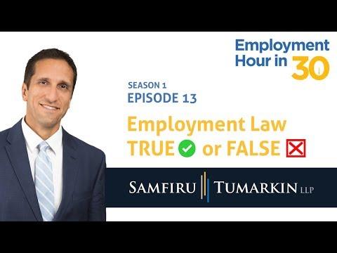Employment Hour in 30: Season 1 Episode 13