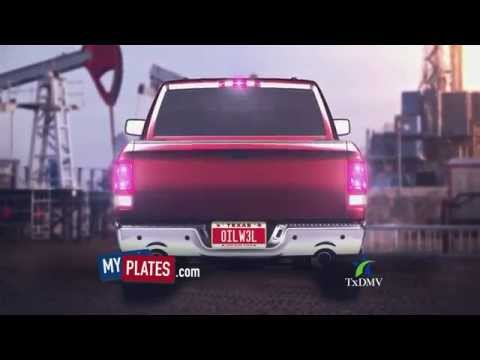 Personalized Texas Liscense Plates - MyPlates