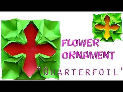 How to make a Flower Ornament