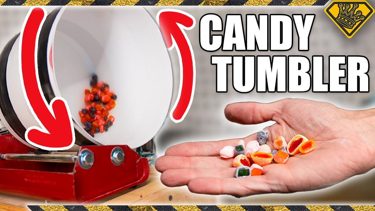 Using a Rock Tumbler to Make This Popular Candy
