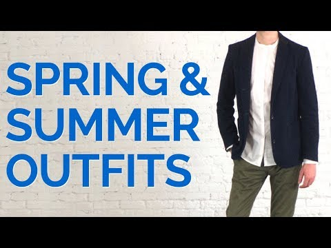 Top 3 Outfits For Spring and Summer 2018