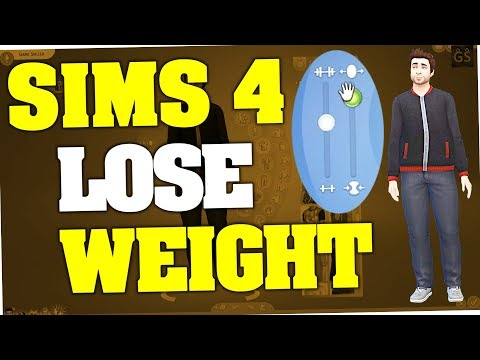 Sims 4 - How to lose weight fast (Cheat)