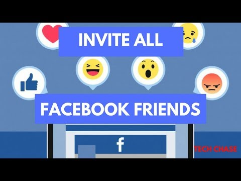 Invite All Friends to like Facebook Page - 2018   100% Working