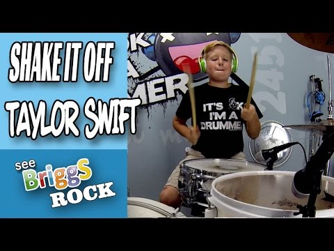 Shake It Off Taylor Swift Drum cover See Briggs Rock