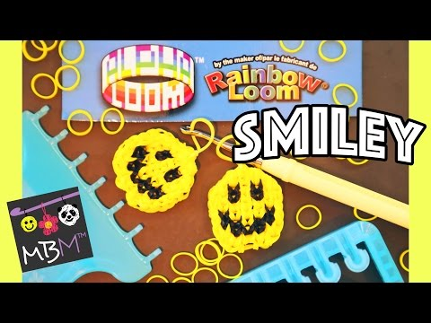 Alpha Loom Band Charm | How to Make a Smiley Face