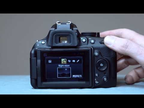 The Nikon D5200 Effects Modes - youtube