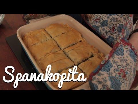 Spanakopita (Greek Spinach Pie) - Crumbs