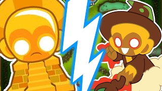 OVERPOWERED MONEY STRATEGY MEGABOOST! - BLOONS TOWER DEFENSE BATTLES (BTD BATTLES)