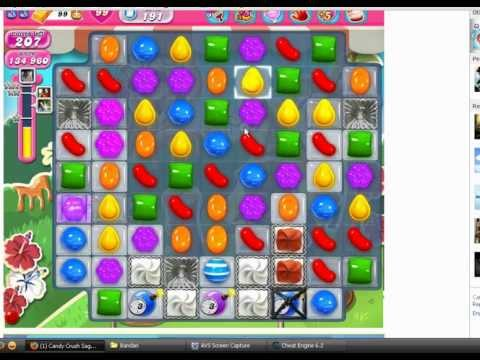 How to cheat Candy Crush Saga on Facebook. (Level 191)