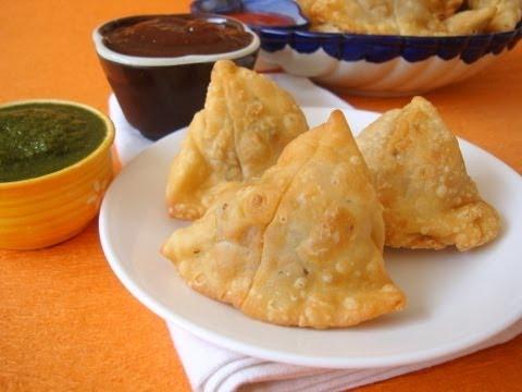 Punjabi Samosa Recipe - Popular Indian Vegetarian Snack