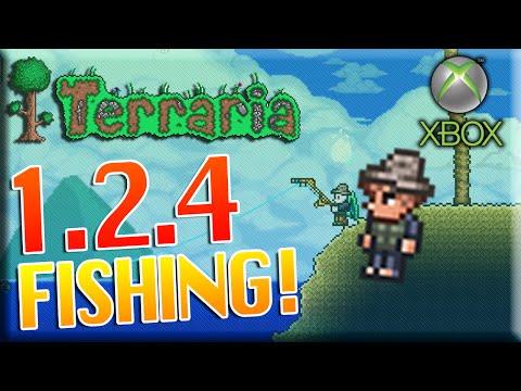 Terraria Xbox 360 - 1.2.4 Fishing GUIDE!